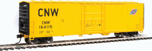 Walthers HO Scale 50/' Insulated Boxcar Chicago /& North Western//C/&NW #164115
