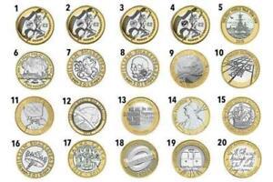 UK £ 2 MONETE 1997 - 2020 GB MONETE Due Pound