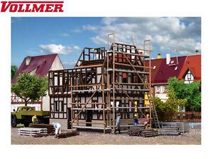 Vollmer-H0-46889-Fachwerk-Rohbau-NEU-OVP