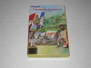 Napoleon-in-Russia-Borodino-1812-PC-IBM-DOS-1987-Datasoft-Rare-Vintage