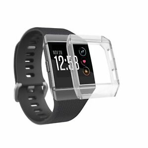 Case-Schale-Silikon-Uhr-Gehaeuse-Huelle-fuer-Fitbit-Ionic-Fitness-Band-Skin-Cover