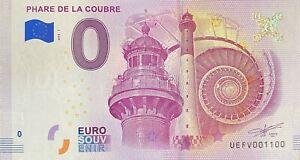 BILLET-0-EURO-PHARE-DE-LA-COUBRE-FRANCE-2018-NUMERO-1100