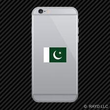 Pakistani Flag Cell Phone Sticker Mobile Pakistan PAK PK