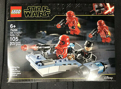 LEGO 75266 Star Wars Sith Troopers Battle Pack New /& Sealed FREE POST