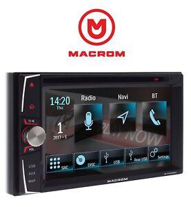 MACROM-M-DVD6000L-2DIN-AUTORRADIO-NAVEGACIoN-USB-CD-DVD-BLUETOOTH-gt-GARANT-A