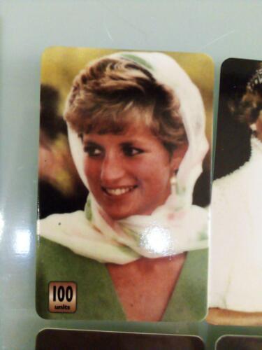 FIGURINE CARD-DI CAPRIO LADY DIANA,ELVIS,MADONNA,JIM MORRISON,NIRVANA,BEATLES...