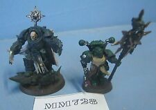 Warhammer 40k Chaos Terminator Lord with Standard Bearer  Plastic Ref MM728