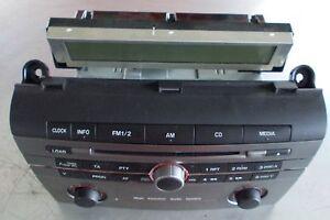 mazda 3 bk radio bordcomputer bj 2006 br2b66ar0 ebay. Black Bedroom Furniture Sets. Home Design Ideas