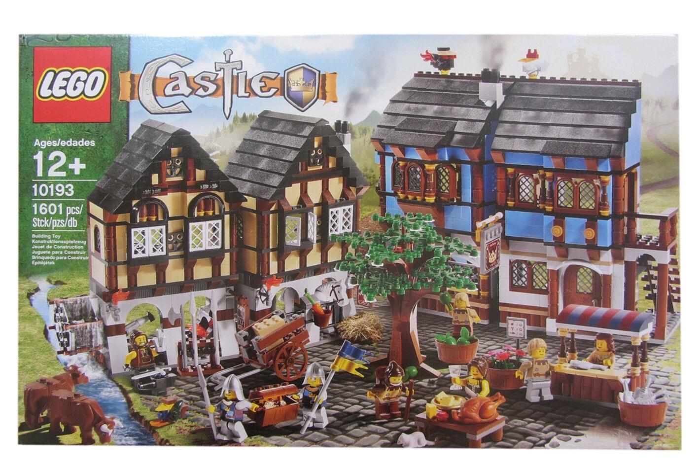 LEGO Castle Mittelalterlicher Marktplatz 10193 Neu Neu Neu & OVP cbf891