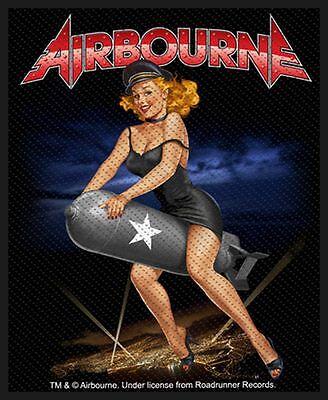 Airbourne Aufnäher - Lady Bomb(SP2669)Airbourne  Patch  - Gewebt & Lizenziert !!