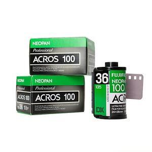 3x-Fuji-Fujifilm-Acros-Neopan-100-136-36-Pelicula-miniatura-s-w-b-w-negro