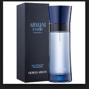 fe88547f9 Armani Code Colonia GIORGIO ARMANI MEN COLOGNE 2.5 OZ 75 ML NEW IN ...