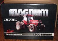 Case Ih International 7240 Magnum Tractor 1/16 Ertl Toy 1st Edition Intro Dealer