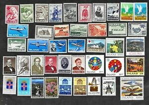 Iceland-Stamps-MNH-Mint-Never-Hinged-Large-Lot-FREE-Shipping-U-S
