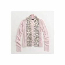 J.Crew  Sequin Scarf Cardigan sweater pink Womens top size XS NWOT