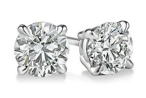 2-ct-White-Sapphire-Round-Stud-Earrings-in-Solid-Sterling-Silver-w-Gift-box