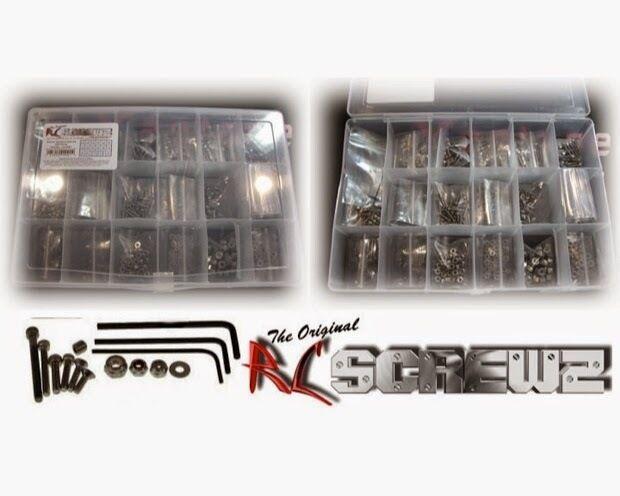 sport caldi RC ScrewZ MRM005 Racers 900 Piece Metric Hardware Kit for for for Crawlers  economico in alta qualità