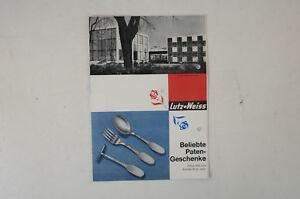 Lutz-Weiss-beliebte-Patengeschenke-Prospekt-50er-Jahre-vintage-Katalog-B5320