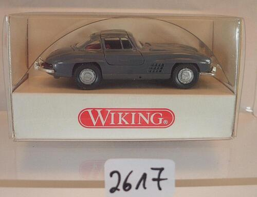 833 01 23 Mercedes Benz 300 SL Coupe grau OVP #2617 Wiking 1//87 Nr