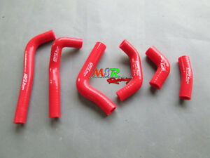 RED-silicone-radiator-hose-for-HONDA-CRF450R-CRF-450R-2002-2003-2004