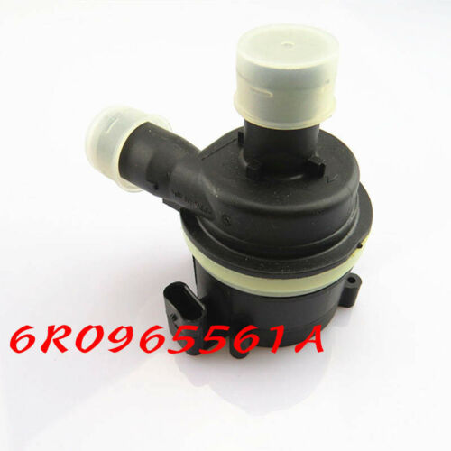 Fit Audi Volkswagen 6R0965561A Additional Auxiliary Electric Coolant Water Pump