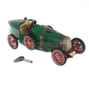 Iron-Cool-Vintage-Wind-up-Walking-Roadster-Racing-Car-Great-Collectibles-Toys