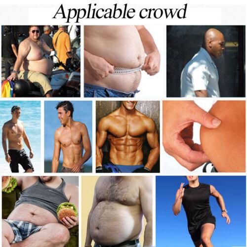 US stock Men Body Shaper Slimming Shirt Full Waist trainer Shapewear Corset Vest