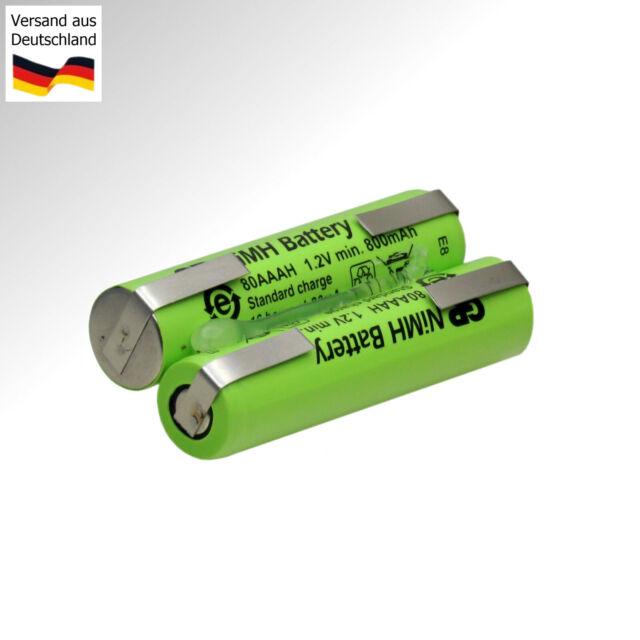 Remplacement Batterie pour Braun Tondeuse A Barbe Cruzer 6 Type 5417 Rasoir à