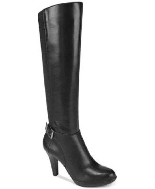 Alfani Womens Vennuss Dress Boots  Black 6 M M M 2670a6