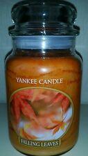 Yankee candle - large 623g jar - FALLING LEAVES retired VHTF