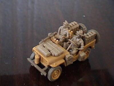 502nr. Willys Jeep Militär Mit Soldaten Figuren H0