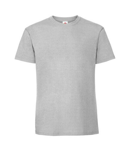5XL Fruit Of The Loom Plain Cotton Heavy Weight Premium Ringspun Tee T-Shirt S
