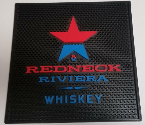 Redneck Riviera John Rich Rubber Bar Drink Spill Drip Mat Rail Runner NEW
