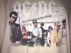 AC-DC-DIRTY-DEEDS-DONE-DIRT-CHEAP-XL-T-SHIRT-ROCK-METAL-2006-OUT-OF-PRINT