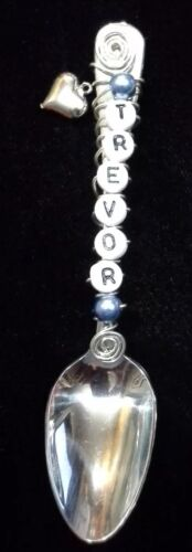 Personalized//name infant or baby spoon  *FREE NOTE INCLUDED*