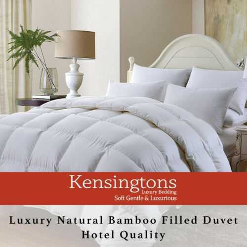 Kensingtons® Hotel Quality Bamboo Duvet Single, Double, King, Super King All Tog