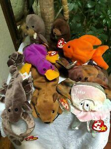 Choice:  NWT Ty Beanie Baby BABIES Water Related Stuffed Animal Plush