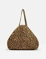 Joules Womens Hillwood Quilted Tote Bag - TAN LEOPARD in One Size