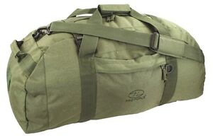 BASE-CAMP-DUFFLE-BAG-65-Litre-Military-loader-waterproof-kit-army-rucksack-OLIVE