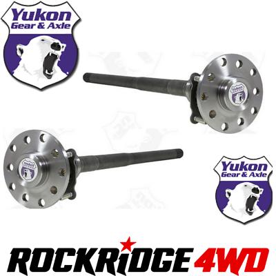 Yukon Gear /& Axle Yukon 4340 Chromoly Axle for Jeep Non-Rubicon JK Rear