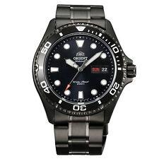 Orient FAA02003B Men's Black Ray Raven II Stainless Steel 200M Diver Watch