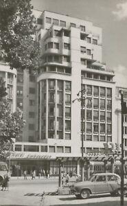 Romania-1975-exquise-Comme-neuf-RP-postcard-Bucharest-Hotel-Ambassador-Bucuresti