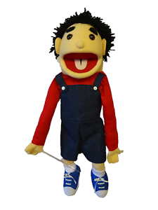 Boy puppet like Denis the menace26 Ventriloquist,Educational.Moving mouth arm