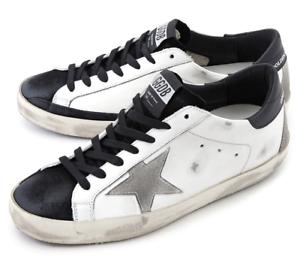 Details zu Golden Goose Men Superstar White Sneakers Shoes G35MS590 Q56