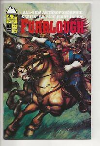 Furrlough-1-Near-Mint-NM-NM-Antarctic-Press-1991-Furry-Anthropomorphic-Series
