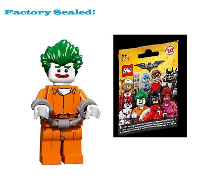 Lego Batman Movie Series Arkham Asylum Joker MINIFIGURES 71017 FACTORY SEALED