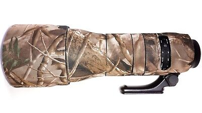 Tamron150-600mm G2 Lens zoom tube cover Neoprene camo.