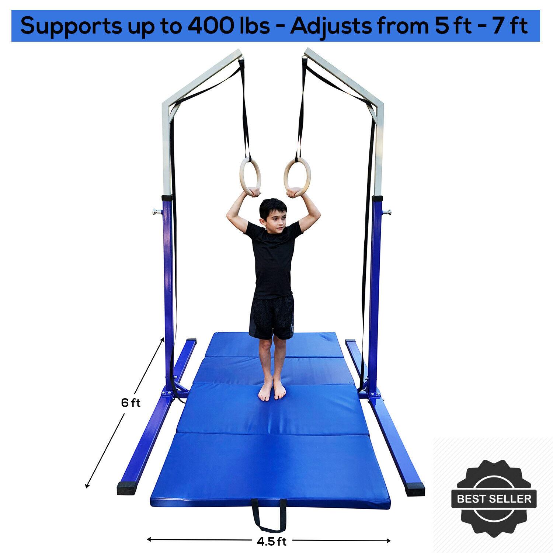 Ring Tower Gymnastik Training Workout Equipment Stand für Gym oder Home-w Ringe