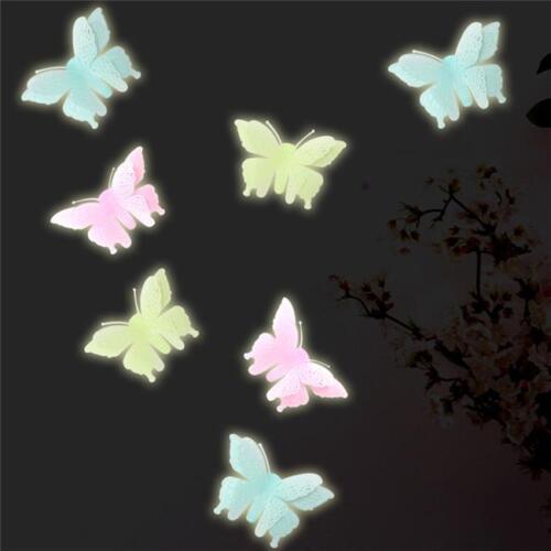 Glow In The Dark Plastic Stars Fun Ceiling Wall Art Luminous Space Stickers HZ