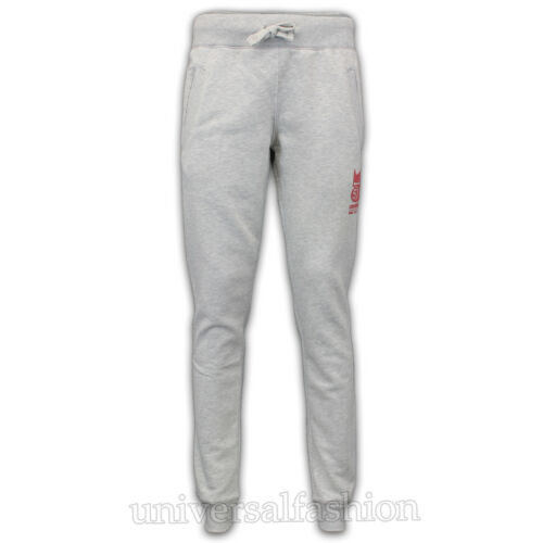 Ladies Crosshatch Jogging Bottoms Womens Running Trousers Fleece Lined Casual